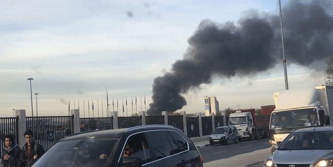 Bursa'da büyük yangın kontrol altında