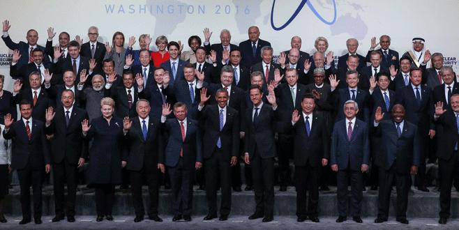Erdoğan Nükleer Güvenlik Zirvesi'ne katıldı
