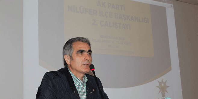 Celil Çolak: 2019'da Nilüfer'i kazanacağız