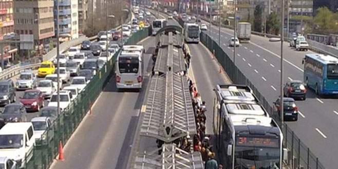Metrobüse bindi 2 milyonu gitti