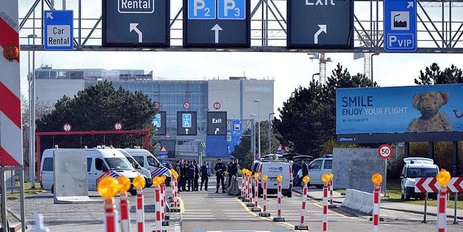 Brüksel Havalimanı kısmen açıldı