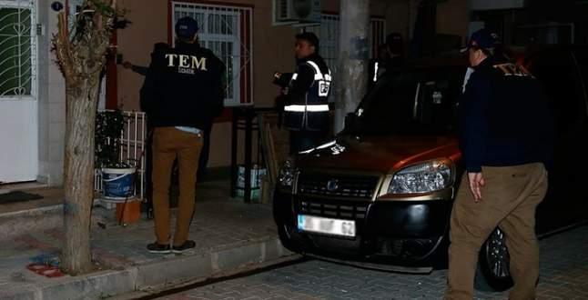 Terör operasyonunda 5 tutuklama
