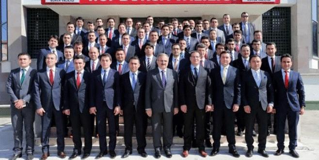 Kaymakam adaylarından Vali Karaloğlu'na ziyaret
