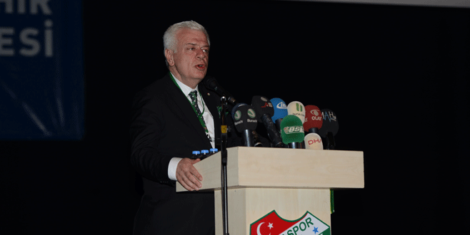 Bursaspor Başkanı Ali Ay'dan çarpıcı açıklamalar!