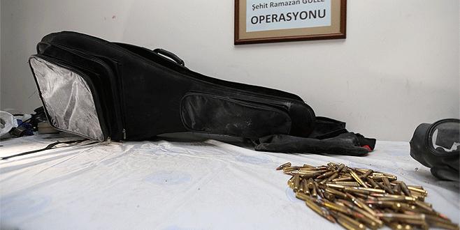 Gitar çantasında bomba düzeneği çıktı