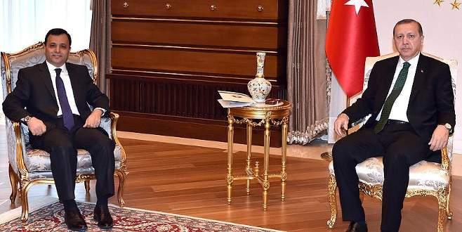 Erdoğan AYM Başkanı Arslan'ı kabul etti