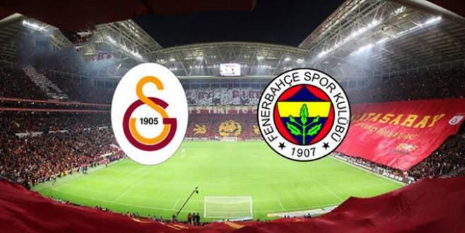 Galatasaray-Fenerbahçe derbisinin saati belli oldu