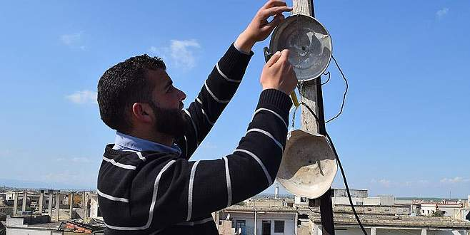 Abluka altında yaşayan Suriyelilerden 'ilkel icatlar'