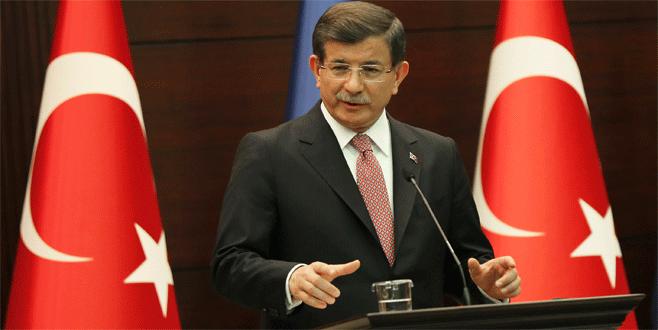 Davutoğlu: 'Süreci derhal başlatma talimatı verdim'