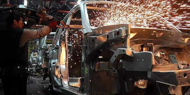 Sanayi üretimi yüzde 5,8 arttı