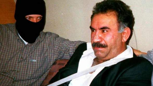 Terörist başı Öcalan'lı tehdide 6 bin lira para cezası!