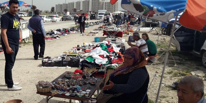 Bursa'da hurda pazarına ilgi büyük