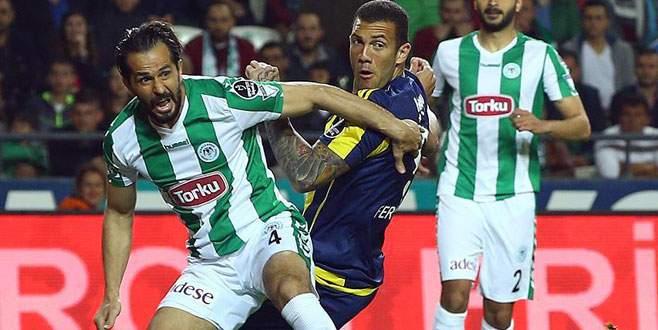 Konyaspor, Fenerbahçe'yi 2-1 mağlup etti