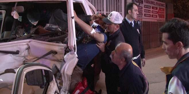 Kazazedenin yardımına polis memuru yetişti