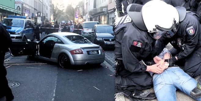 PKK yandaşları saldırdı, olaylar çıktı
