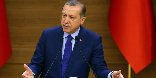 Erdoğan: Kimin fezlekesi varsa hemen yargıya taşınmalı