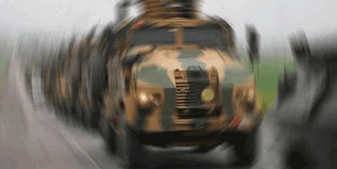 Nusaybin'de zırhlı aracın geçişi sırasında patlama