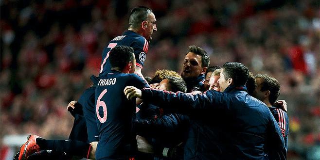 Bayern Münih yarı finale çıktı