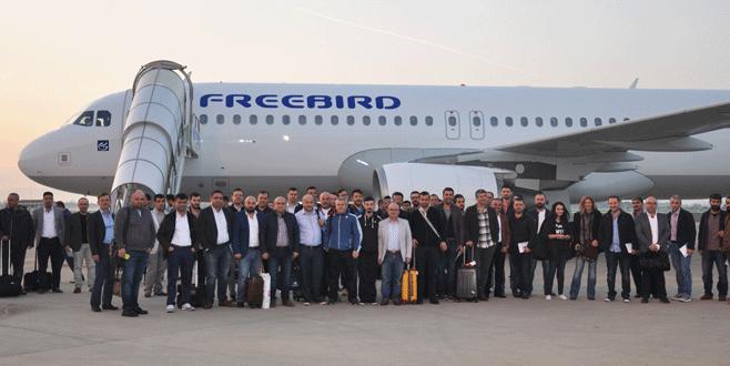 İnegöllü mobilyacılar Milano'ya gitti