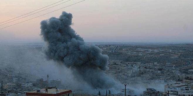 Rus uçakları sivilleri vurdu, 7 ölü 23 yaralı