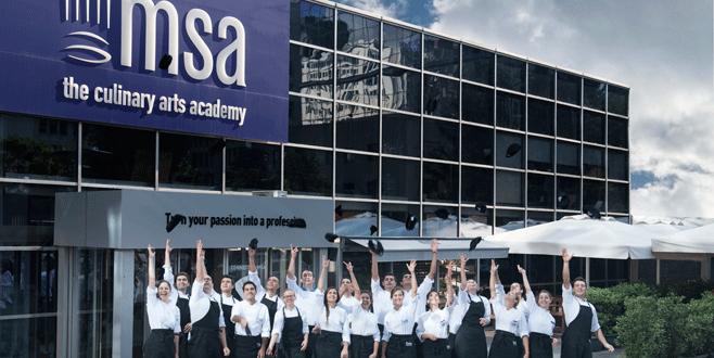 Profesyonel aşçılar MSA'da yetişiyor