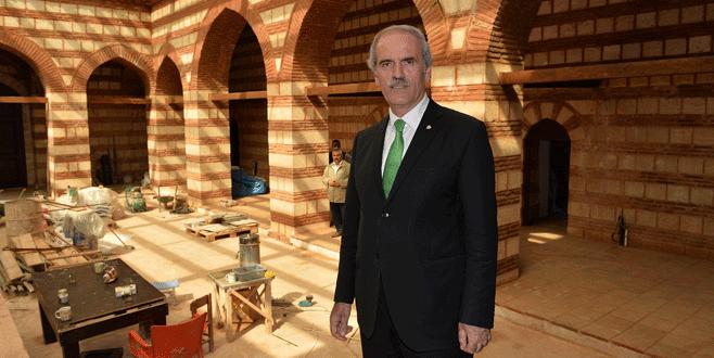 600 yıllık tarihi medrese açılışa hazır