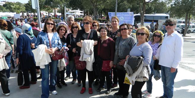 Mudanyalı Mübadiller Alaçatı Ot Festivali'ne katıldı
