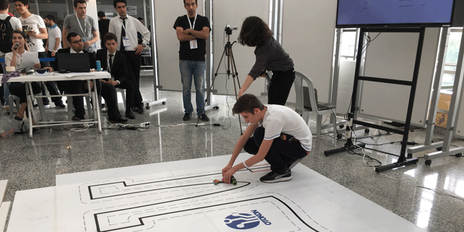 Kültür'lü robotlar finale yükseldi