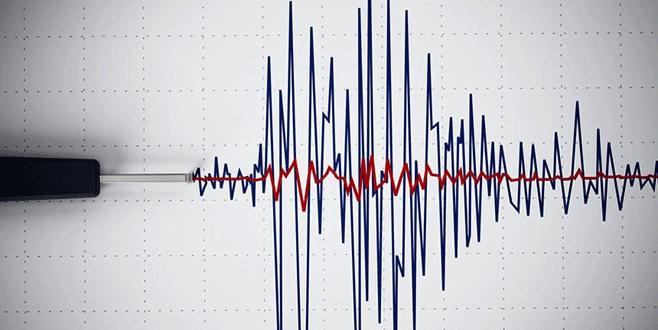 4,1 büyüklüğünde deprem