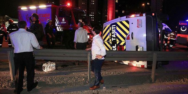 Düğün dönüşü feci kaza: 14 yaralı