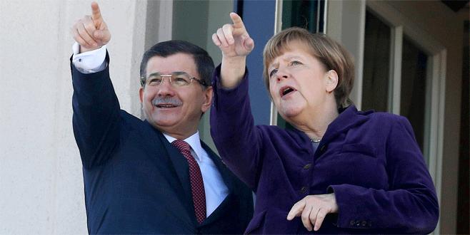 Davutoğlu ve Merkel Gaziantep'e gidecek