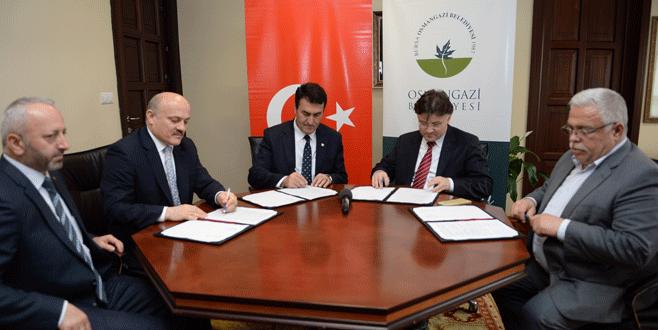 Osmangazi'de Toplu İş Sözleşmesi imzalandı