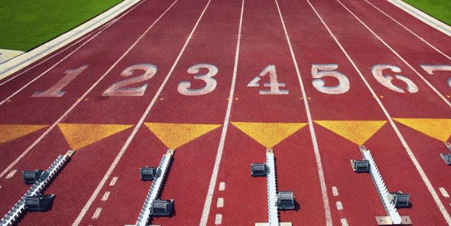 Atletizmde olimpiyat coşkusu yaşanıyor