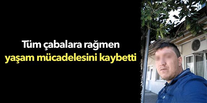 Bursa'da 27 yaşındaki gencin acı sonu