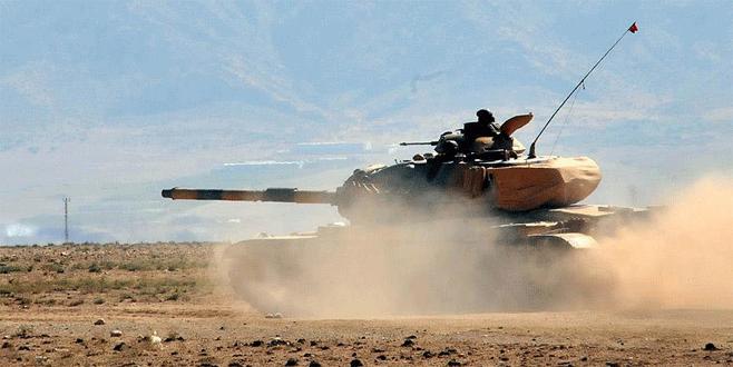 IŞİD, Başika'da Türk tankını vurdu!
