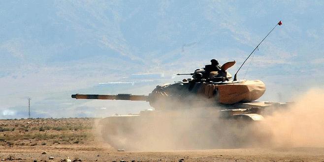 Türk tankına saldıran IŞİD'lilerin sonu kötü bitti!