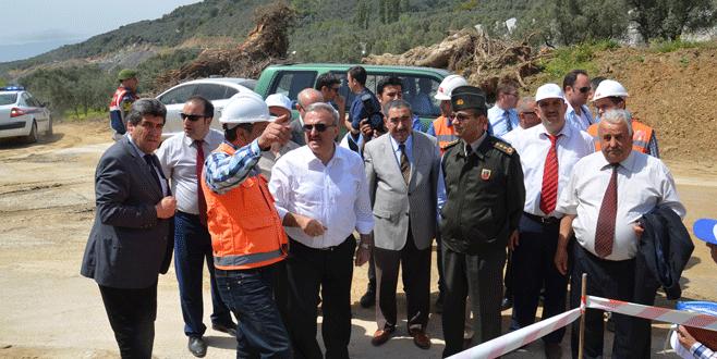 Vali Karaloğlu Büyük Kumla Barajı'nı inceledi