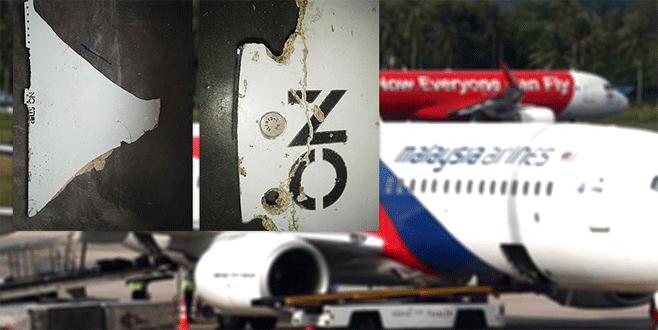 Kayıp Malezya uçağına ait parçalar bulundu