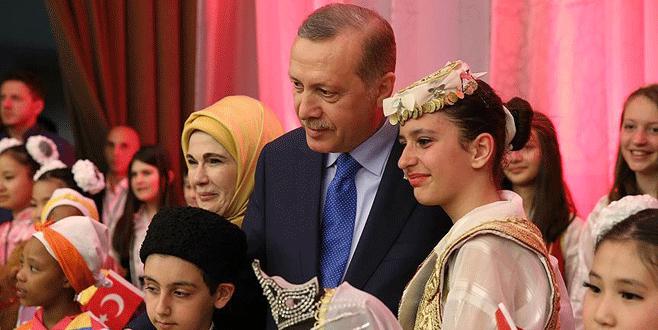 Erdoğan'dan 'çocuklara özel' 23 Nisan yemeği