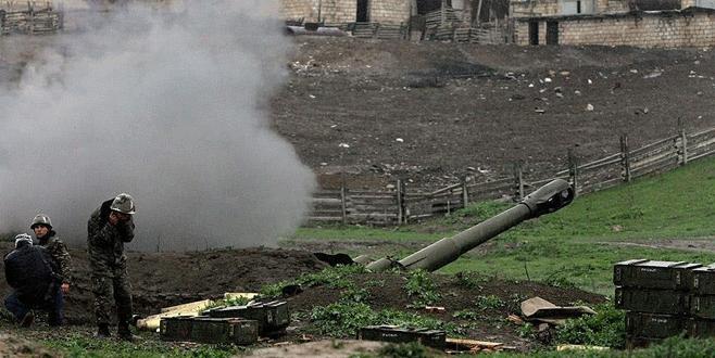 Azerbaycan-Ermenistan cephe hattında sıcak saatler