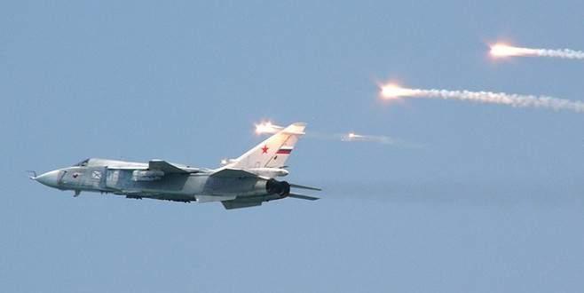 'Rusya İsrail savaş uçağına ateş etti'