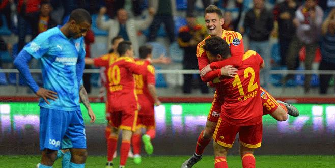 Kayserispor 2-1 Bursaspor (Maç Sonucu)