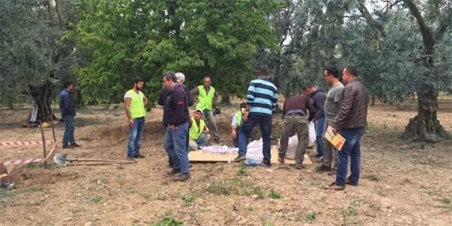 İznik'te Romalılardan kalma oda mezarı bulundu
