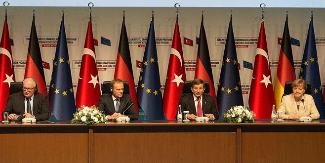 Davutoğlu: Geri Kabul Anlaşması vize muafiyetiyle birlikte uygulanır