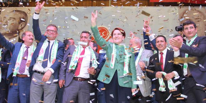 Akşener Bursa'dan yola çıktı