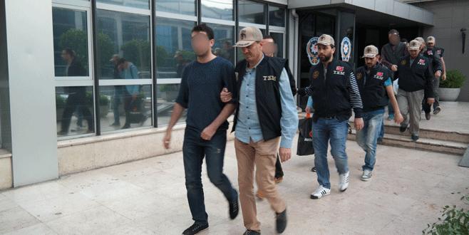 Bursa'daki 'paralel yapı' operasyonunda 7 tutuklama