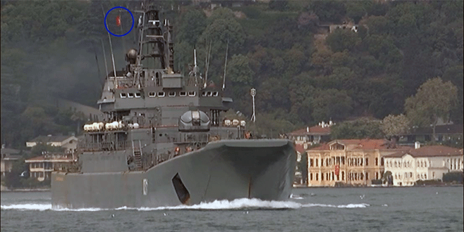Rus savaş gemisi bu kez şaşırttı!