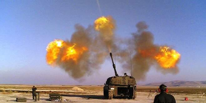 TSK, IŞİD'in füze rampasını vurdu!