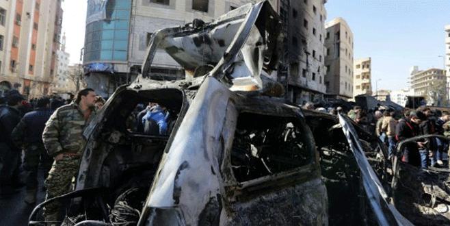 Şam'da hastaneye bombalı saldırı