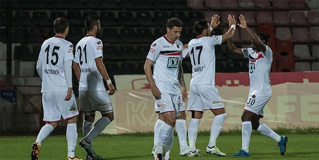 Gaziantepspor 1-3 Gençlerbirliği